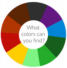 Unlimited wheels of fortune with unlimited labels. Nature Colour Wheel Activity With Printable Colour Wheel Nurturestore