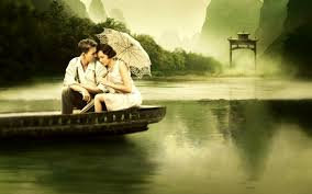 romantic couple hd wallpaper and image couple in boat hd wallpapers free