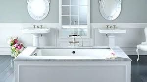 cleaning cast iron bathtub corner tub shower combo ideas how to clean rust from