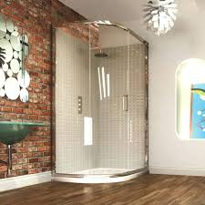 36 x 36 corner shower kit. showers:aqua glass corner shower kit 36 x doors frameless tempered