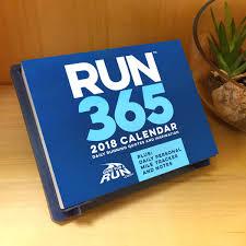 runner s 2018 daily desk calendar