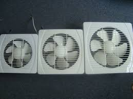 office exhaust fan ventilation kitchen wall