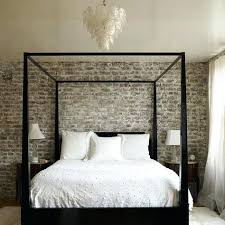 Brick Wall Bedroom Exposed Brick Brick Wall Bedroom Four Poster Bed Faux Brick  Wall Bedroom . Brick Wall Bedroom ...
