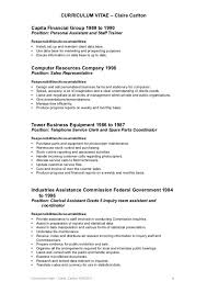 resume objective clerical gallery of clerical resume examples