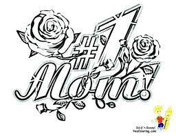 Mother Coloring Pages Printable Mom To Print Mothers Day Colouring