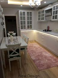 white kitchen carpet kitchen rug pink kitchen table suspended ceiling chandelier led light country kitchen glass built in
