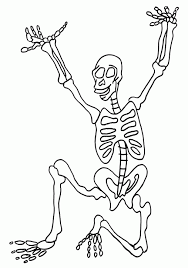 Small Picture Dinosaur Skeleton With Dinosaur Skeleton Coloring Page Coloring