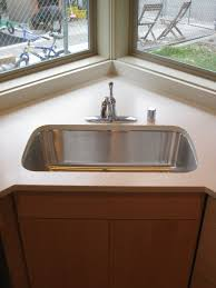 Corner Sink With Windows So We Can Keep An Eye On The Kids