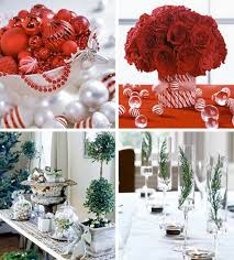 red and white table decorations. Lovely Christmas Dining Table Centerpiece Ideas Red And White Decorations A