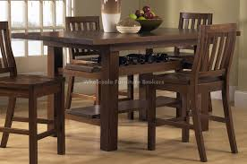 rustic bar height dining table. dining tables, astonishing brown rectangle rustic wooden pub height table stained ideas: bar m