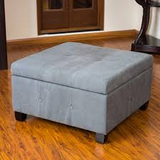Full Size Of Coffee Table:marvelous Upholstered Coffee Table Leather  Cocktail Ottoman Blue Ottoman Coffee ...