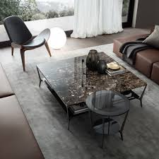 planet round table with black nickel structure grey transpa top perimetral frame with silver