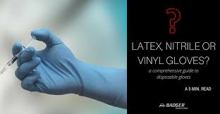 Latex Nitrile Or Vinyl Gloves A Comprehensive Guide To