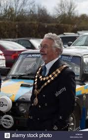 Leominster, UK. 09th Nov, 2017. The Mayor of Leominster Roger ...