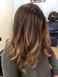 Light Brown Roots Dark Brown Hair Ombre For Brown Hair Brown Roots And Honey Blonde Ends