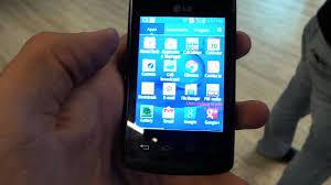 LG Optimus L1 II E410 hands-on video ...