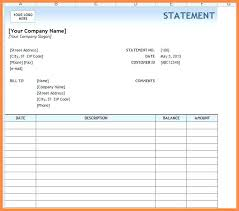 Invoice Statement Example Ms Excel Billing Statement Invoice Template Olympic Tax