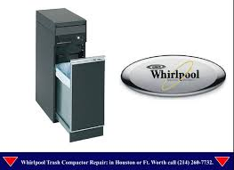 How Does A Trash Compactor Work Whirlpool Trash Compactor Repair Houston Youtube