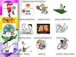Interests Amp Hobbies Hobbies And Interests Playing Football Playing Basketball Playing