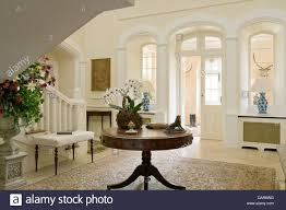 round entrance hall tables photo 2
