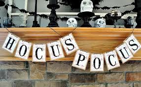 hocus pocus decor