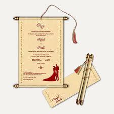 Scroll Wedding Cards At Rs 70 Piece Andheri East Mumbai Id