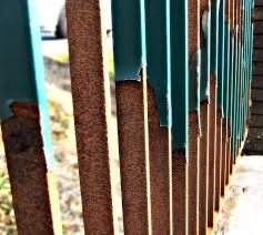 rusty metal fence rusty iron fences and gates k brothers
