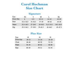 Carole Hochman Size Chart Best Picture Of Chart Anyimage Org