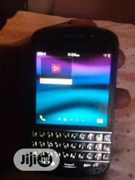 BlackBerry Q10 16 GB Black in Lagos ...