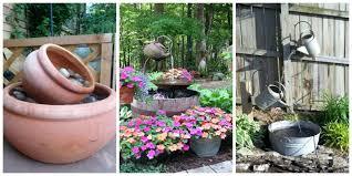 outdoor garden fountain. Outdoor Garden Waterfall Fountain Ideas How To Make A For Your Backyard .