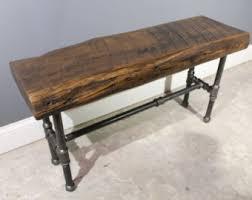 Reclaimed Urban Wood L shaped desk made by UrbanWoodFurnishings