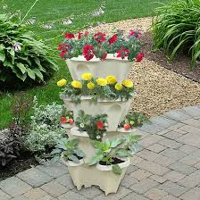 apartment gardening. Beautiful Gardening Customize Your Garden With Stackable Planters You Can Grow 16  Plants Or More In Small Vertical Space This Clever Planter On Apartment Gardening