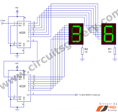 counter circuit diagram the wiring diagram simple 4026 manual digital counter circuit reset and pause wiring diagram