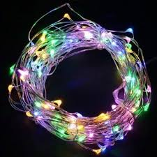 String Light Balloon Micro Led String Lights 3meter Colorful