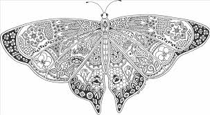 Small Picture Butterfly Coloring Pages For Adults diaetme