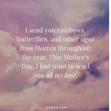 Heaven Quotes Enchanting Say Happy Mother's Day To Mom In Heaven With These 48 Quotes Women