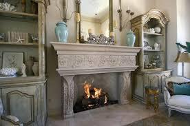 image of cast stone fireplace baton rouge