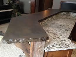 simulated stone countertops minneapolis mn rock edge faux granite concrete countertops