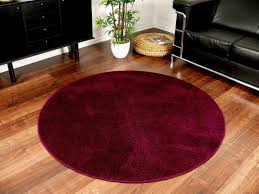 small round rug living room