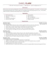 Data Entry Resume Sample Data Entry Resume Sample Awesome Resume