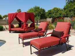 comfortable red lounge chairs with outdoor bed for elegant walmart patio  furniture clearance