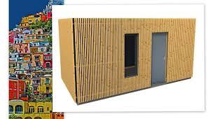Liteaux Claire Voie _ Container Abri Pas Cher _ 33 0 6 30 66 Bardage Bois Pour Container