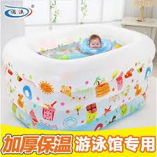 inflatable baby bathtub pool 11street malaysia bathing