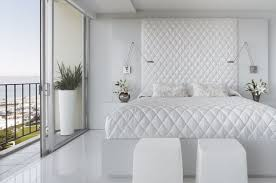 All White Bedroom Furniture Simple Design