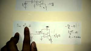 solving diffeial equation by op amp