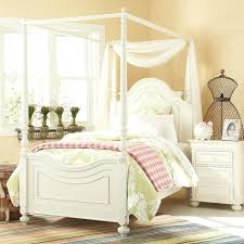 Canopy Bed For Little Girl Stylish Toddler Twin – sacon.org