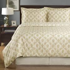 sierra beige ivory silky soft 100 percent egyptian cotton reversible duvet cover