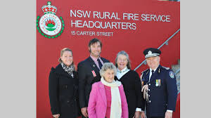 mega gallery cootamundra the week that was to  selfless action stockinbingal s james burge is pictured at the rural fire service headquarters in sydney