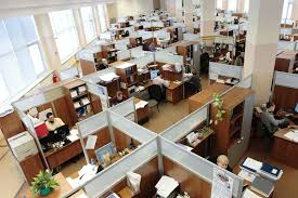 Open Concept Office Design Interesting A Short History Of Office Design Evolution Of The Workplace