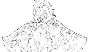 Barbie Coloring Pages Online Free Colouring For Games Cremzempme
